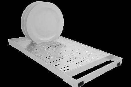 Módulo escorredor de copos e pratos – BD25/MEC16/MEP16